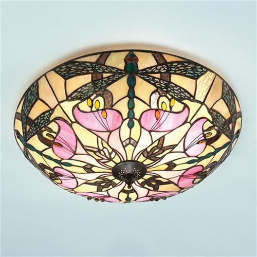 Ashton Tiffany Art Nouveau Flush Fitting 63922