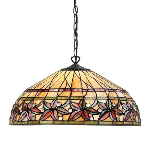 Ashtead Three Light Tiffany Pendant 63914