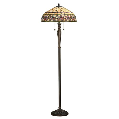 Ashtead Tiffany Dark Bronze Floor Lamp 63912