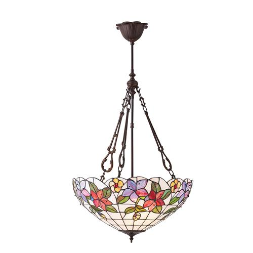 Country Border Large Inverted Triple Pendant 70747