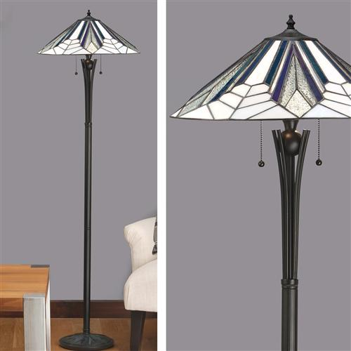 63934 Astoria Tiffany Floor Lamp