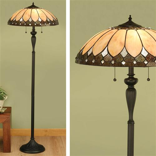 63972 Brooklyn Tiffany Floor Lamp