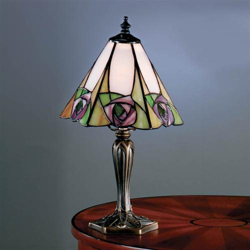 Ingram Small Sized Tiffany Table Lamp 64185