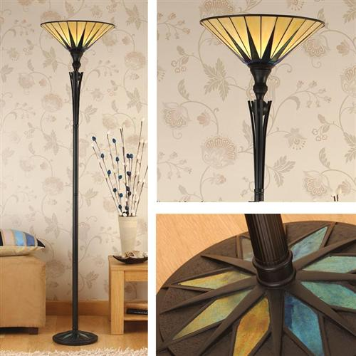 Tiffany Up-Lighter Floor Lamp 64042