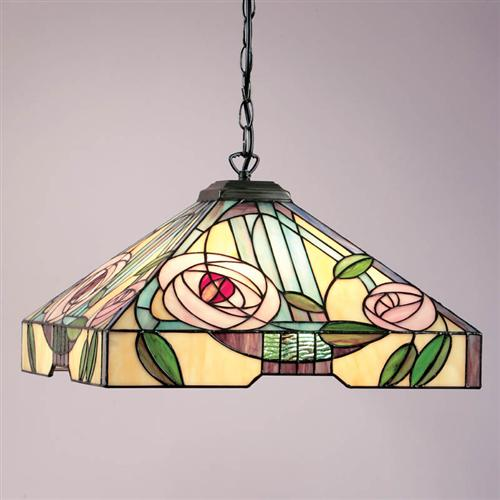 64384 Willow Large Tiffany Ceiling pendant