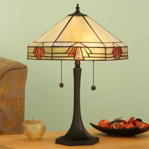Nevada Large Tiffany Table Lamp 64286