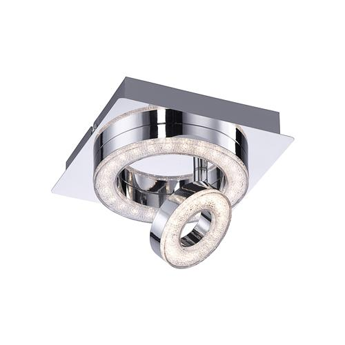 Tim Crystal Effect 2 Light Ceiling Fitting 14520-17