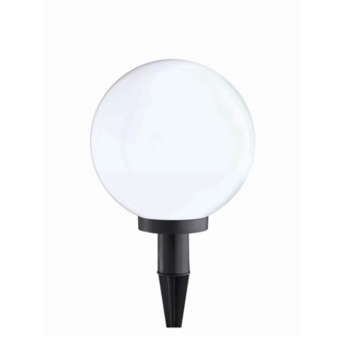 Lowell White Globe Outdoor 400mm Spike Light LD0387