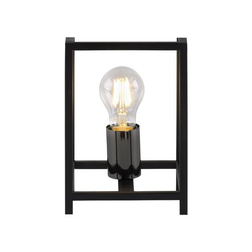 Fabio Black Rectangular Table Lamp 15812-18