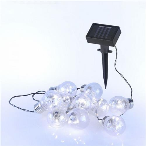 Helge Led/Battery Operated Outdoor Solar Bulb Lights 19859-00