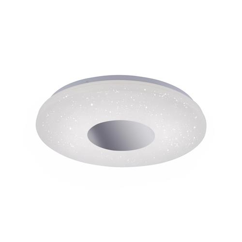 Lavinia LED Large Chrome IP44 Bathroom Flush Fitting 14822-17