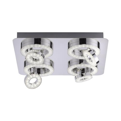 Loon smart LED RGB Chrome Ceiling Fitting LD0246