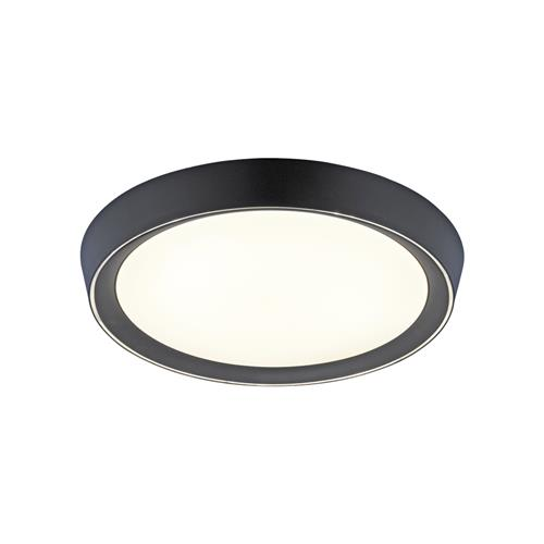 Lorena LED Anthracite Flush Ceiling Fitting 14217-13