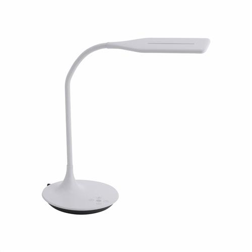 Rafael LED White Touch Dimmer Table Lamp 13061-16