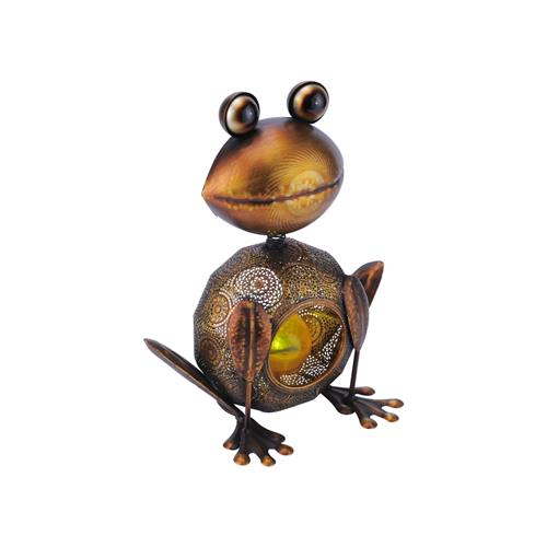 Solar IP44 Outdoor Copper Frog Style Light 19868-20