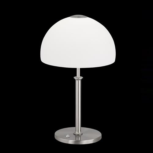Avignon Nickel/Chrome LED Dimmable Table Lamp 50029