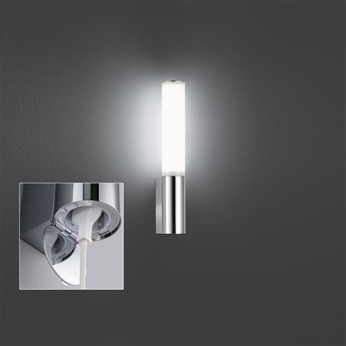 Flimwell IP44 Rated Chrome LED Bathroom Wall Light FH1144