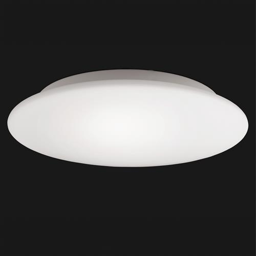 Filham Large White Finished Flush Ceiling 3 Light FH1095