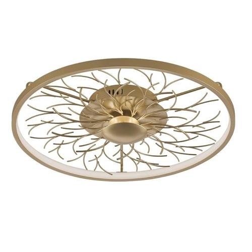 Diego Gold Coloured LED Dedicated Ceiling Light 20586