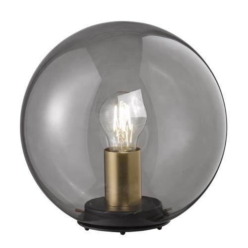 Dini Matt Black/Brass Table Lamp 50282