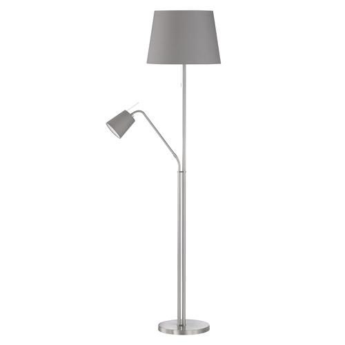 Layer Mother And Child Lamp With Grey Shades 40118