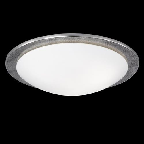 Fagley Antique Nickel Flush Triple Ceiling Light FH0810
