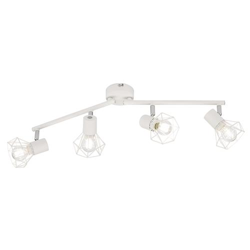Farleton White/Chrome 4 Light Spotlight FH0886