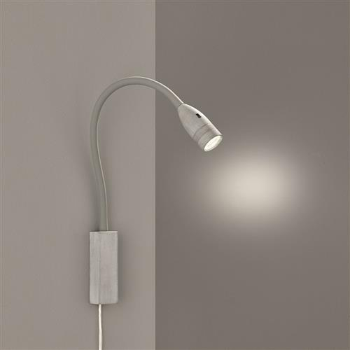 Sten Plug-In LED Dedicated Concrete Coloured Wall Light 30171