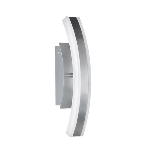 Flaxton Aluminium/Chrome LED Dedicated Wall Light FH1134