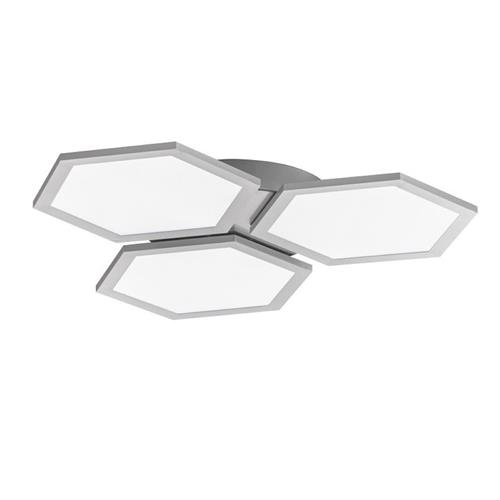 Fellbeck Silver LED Colour Temperature Changing Ceiling Light FH1053