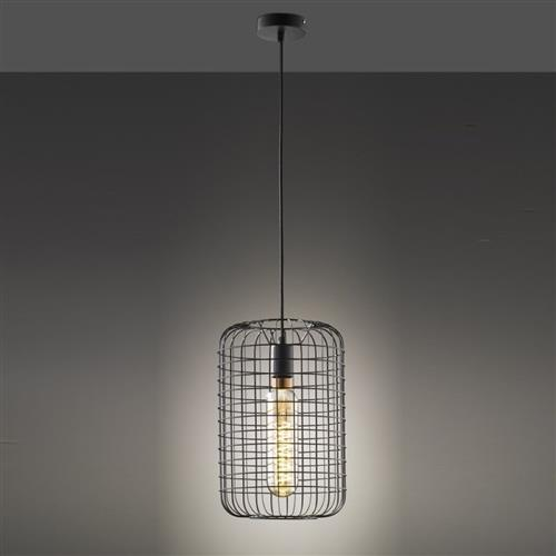 Busby Matt Black Pendant Light FH1428
