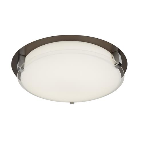 Damiana Brown LED Dedicated Flush Ceiling Light 1491-30Br