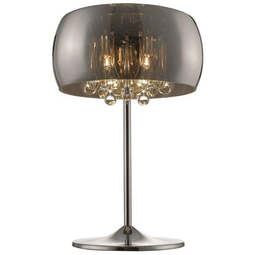 Bella-Rose Three Light Chrome Plated Table Lamp 028CH3T