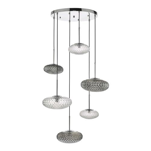 Bibiana Six Light Cluster Pendant BIB6450