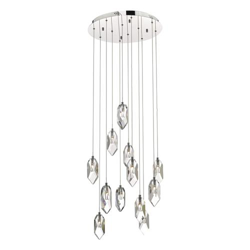 Crystal LED 12 Light Cluster Pendant CRY1250
