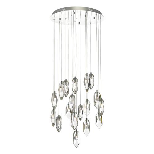 Crystal LED 18 Light Cluster Pendant Cry1850