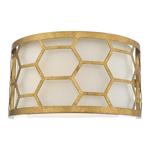 Epstein One Light Wall Light Gold & Ivory EPS0712