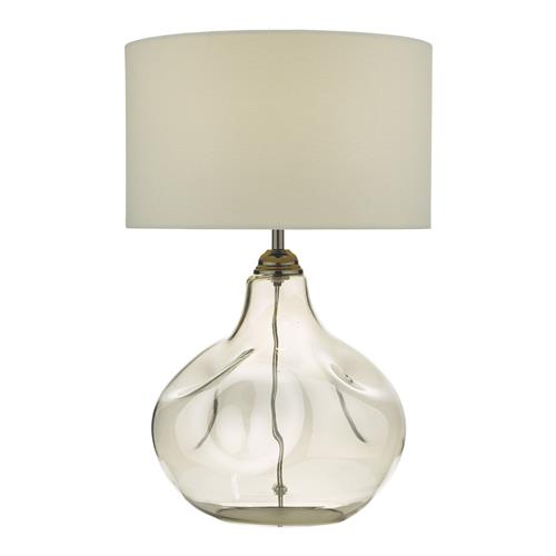 Esarosa Table Lamp With White Linen shade ESA4210