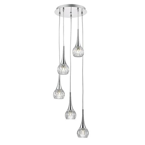 Lyall 5 Light Spiral Ceiling Pendant Fitting LYA0550