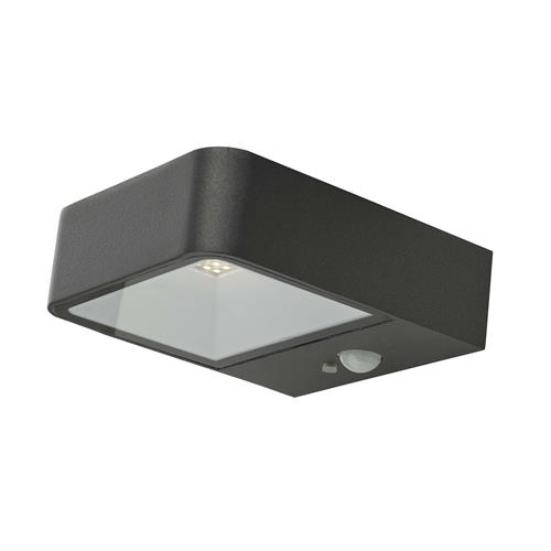 Noxolo LED PIR Outdoor Anthracite IP65 Solar Light NOX2139
