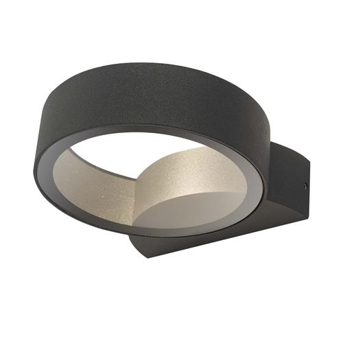 Reon IP65 Anthracite Outdoor LED Wall Light REO3239