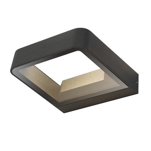 Malone IP65 Outdoor Anthracite LED Wall Light MAL3239