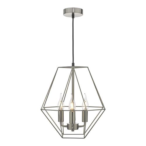Simbala Satin Chrome 4 Light Pendant SIM0446