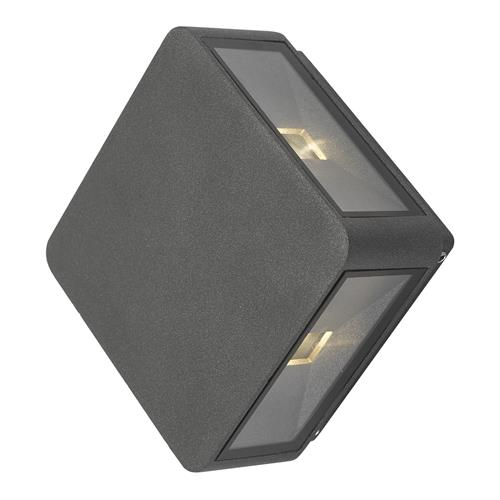 Weiss IP65 LED Outdoor Anthracite 4 Light Wall Fitting WEI2139