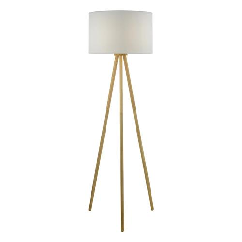 Yodella Real Oak Wood Floor Lamp, Oak Floor Lamp With Shelves Uk