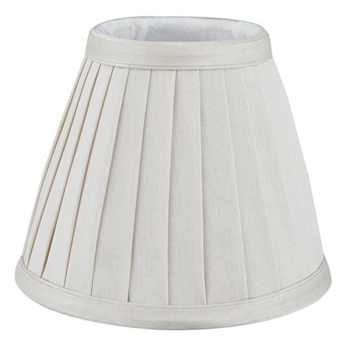 Yovanna 6 Inch Faux Silk Pleated Lampshade The Lighting Superstore