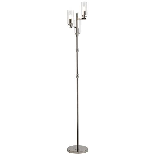 Holdyn 3 Light Polished Nickel Floor Lamp DAL7355