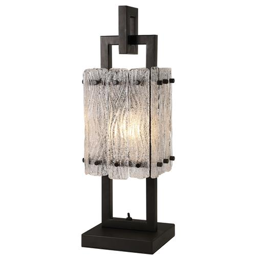 Vincenzo Matt Black Switched Table Lamp SOR7688