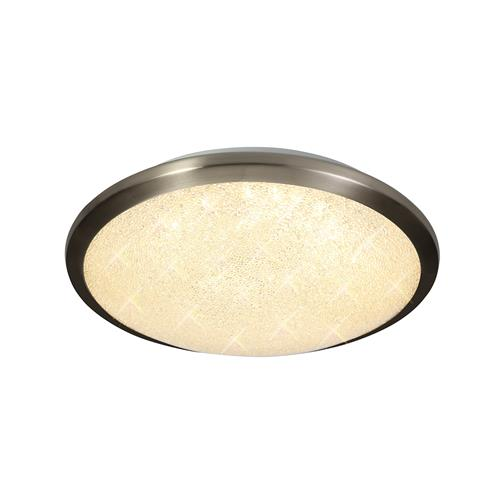 Waseem Small LED Satin Nickel Bathroom Ceiling light BAS7750