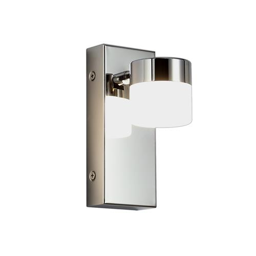 Wilbert Single LED Chrome IP44 Bathroom Wall Light BOL7743